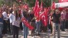 Ankara'da binler şehitler için yürüdü