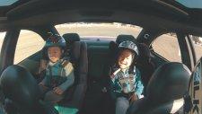 Ailecek Drift Yapmak   BMW E46 M3 ile tüm aile drift yapıyor