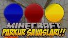 Minecraft PARKUR SAVAŞLARI !! (3LÜ KAPIŞMA!!) - w/Wolvoroth Gaming,TheNovaPunch