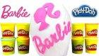 Barbie DEV Sürpriz Yumurta Oyuncak Açma Oyun Hamuru TV