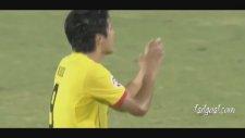 Paulinho 40 metreden astı!