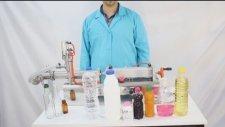 Renas Makina Yarı Otomatik Sıvı Dolum Makinası