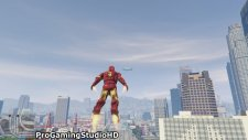 Grand Theft Auto V: IRON MAN (GTA 5 PC Mods Gameplay Funny Moments)
