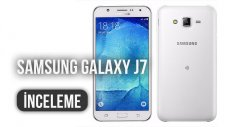 Samsung Galaxy J7 İncelemesi