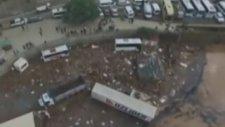 Artvin'deki Sel Felaketinin Havadan Görüntüleri