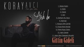 Koray Avcı- Gittin Gideli Akustik Official Audio