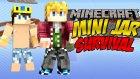 Yepyeni Süper Bir Seri !! - Minecraft Mini Jar Survival - Bölüm 1 W/wolvoroth Gaming