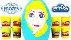 Karlar Ülkesi DEV Sürpriz Yumurta Açma Frozen Elsa Oyuncakları Oyun Hamuru TV