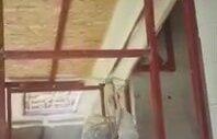 Sprey Poliüretan Köpük Ters Tavan Çatı İzolasyonu