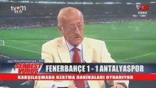 Ziya Şengül Fenerbahçe'yi Eleştirirken Gelen Son Dakika Golü