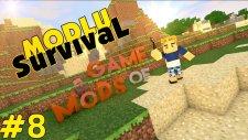 Minecraft Game Of Mods - Ev Bitti - Bölüm 8