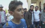 Suriyeli Çocuktan Çağrı  Savaşı Durdurun Avrupa'ya Gitmek İstemiyoruz