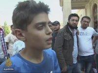 Suriyeli Çocuktan Çağrı - Savaşı Durdurun Avrupa'ya Gitmek İstemiyoruz
