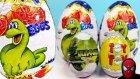 Büyük Dinazor Sürpriz Yumurtaları Açma Oyuncak Abi Dino Eggs