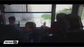 Ankara'da Belediye Otobüsündeki Tartışma
