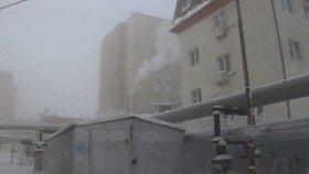 Dünyanın En Soğuk Bölgesi Yakutsk  Eksi 48 Derece (Sıradan Bir Gün)