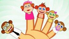 Finger Family Monkeys - Parmak Ailesi - İngilizce Çocuk Şarkıları - Kids Songs