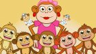 Five Little Monkeys Jumping On The Bed - İngilizce Çocuk Şarkıları - Kids Songs