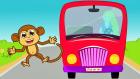 Wheels On The Bus - Otobüsün Tekerleği - İngilizce Çocuk Şarkıları - Kids Songs