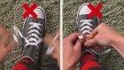 Ayakkabı Bağlamanın En Hızlı Yöntemi