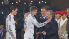 Cristiano Ronaldo'nun Kupa Seremonisinde Platiniyi Es Geçti
