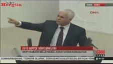 Koray Aydın'dan Davutoğlu'na Yüce Divan Cevabı