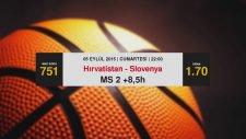 Bahisanaliz Eurobasket Günün İddaa Maç Tahminleri (5 Eylül)