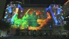 BBC Doctor Who 50.Yıl Özel Işık Gösterisi (Avustralya)