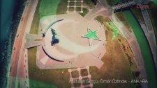 Drone ile Türk Bayrağının Farklı İllerden Görüntüleri