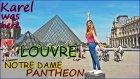 Louvre, Notre Dame, Pantheon PARIS #Vlog | KAREL BURADAYDI 5