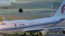 Air China 981'nin JFK Yer Kuleyi Çıldırtması