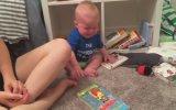 Kitap Okumayınca Bunalıma Giren Bebek