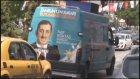 AK Parti Seçim Aracı İle Cumhurbaşkanı'nın Miting Duyurusu Yapmak