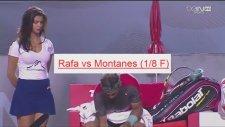 Nadal'ın Yanına Güzel Kız Koyup Dikkat Çekmek