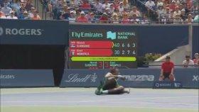 Gael Monfils'in Novak Djokovic Karşısındaki Gösterisi