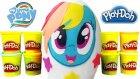 My Little Pony DEV Sürpriz Yumurta Açma Oyun Hamuru TV Rainbow Dash