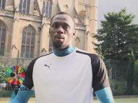 Usain Bolt'tan Baş Döndüren Penaltı!