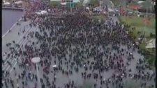 2400 Kişi Atatürk Portresi Çizmek