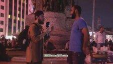 EhliSunnet Tv  Ingilizce ile Imtihanı Taksim - Alkışlarla Yaşıyorum Şoka Girdi