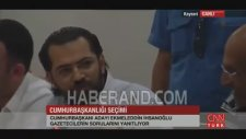 Ekmeleddin İhsanoğlu - Yeni Akit Muhabirine Kadir Gecesi Mesajı Ayarı