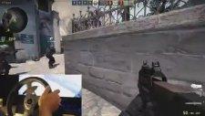 Direksiyonla Counter Strike Oynamak
