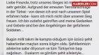 İlkay Gündoğan: Dualarım ve Gönlüm Şehit Aileleriyle