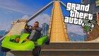 MODDED MEGARAMP GO KART STUNTS! GTA 5 Online Mods!!