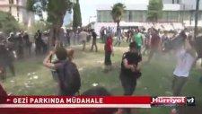 Taksim Gezi Parkı'nda Herkese Biber Gazı Sıkan Polis