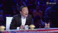 Yeteneksizsiniz Çin Yarışmasında Dans Eden 3 Yaşındaki Çocuk