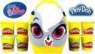 Minişler Dev Sürpriz Yumurta Açma Oyun Hamuru Tv Lps Oyuncakları Pepper Clark