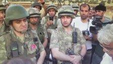 HDP heyetinin güvenlik güçleriyle diyalogu