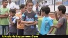 Hakkari'de Siyahi Futbolcu Heyecanı