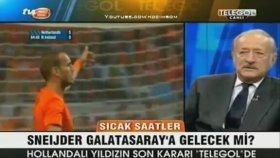 Canlı Yayında Sneijder Maskesi Takmak - Gökmen Özdenak