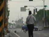 cok canlı bı trafık kazası :((